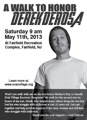 Run for Derek deRosa
