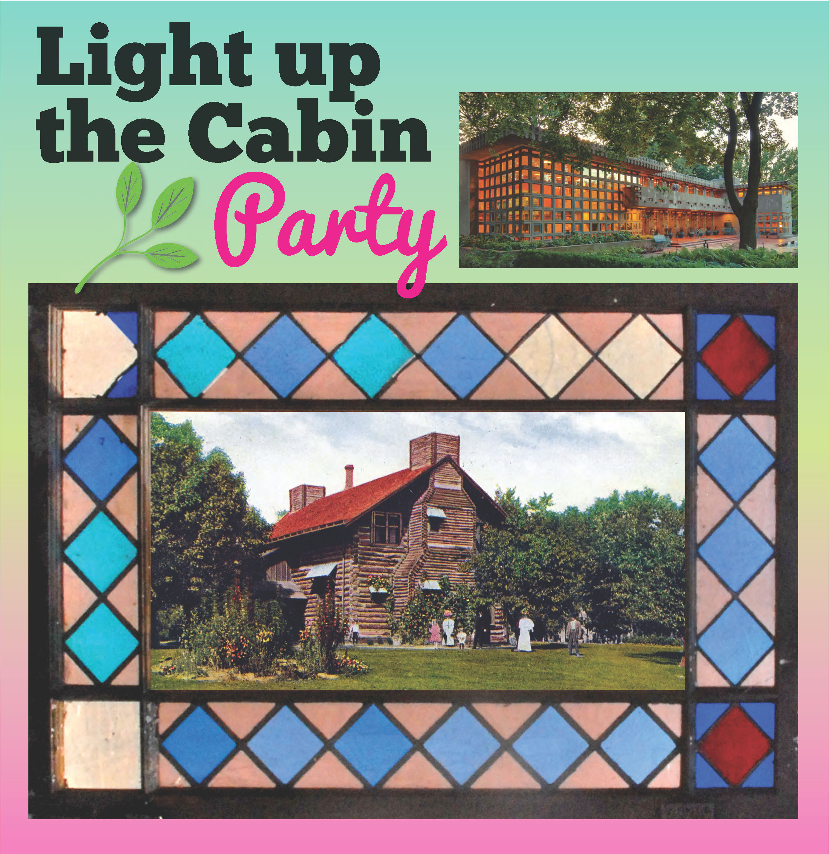Marvelous photograph of Light Up the Cabin 2016: Garden Party @ Frank Lloyd Wright Turkel Home  with #BA1167 color and 2715x2796 pixels