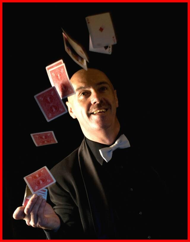 Stand Up Comedy Magic Irish Dave Cremin