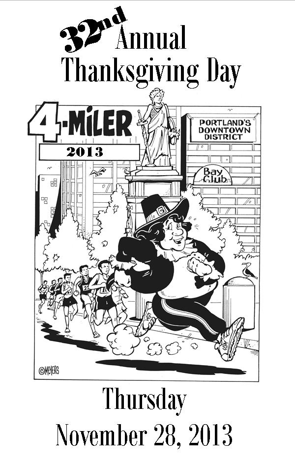 32nd Annual Thanksgiving Day 4-miler