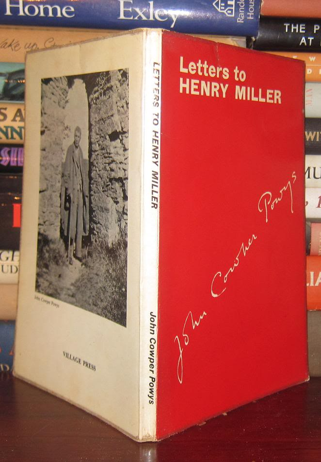 Letters to Henry Miller from John Cowper Powys