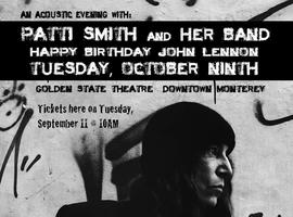 Announcing Patti Smith and Her Band: Tickets will be...