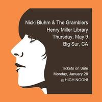 NICKI BLUHM & THE GRAMBLERS ::: Thursday, May 9 ::: HMML...