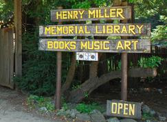 Donate to the Henry Miller Memorial Library