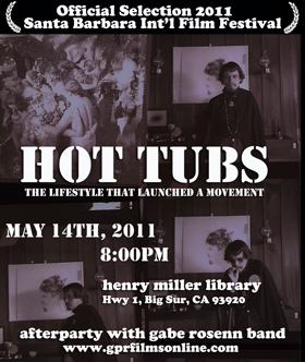 Hot Tubs Film Flier