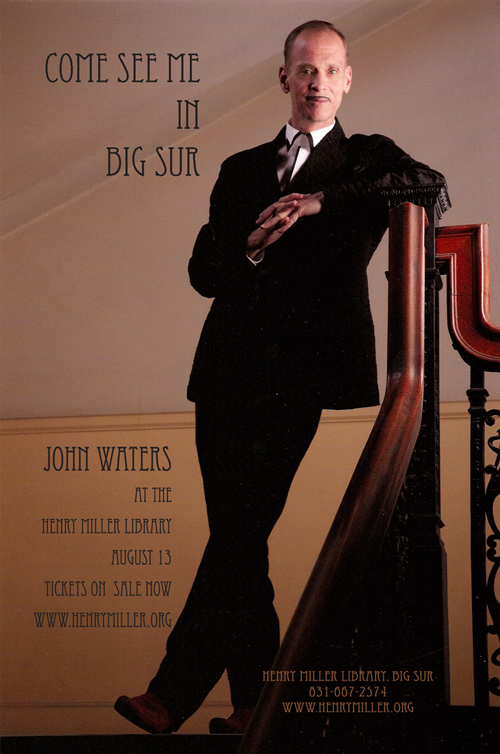 John Waters in Big Sur