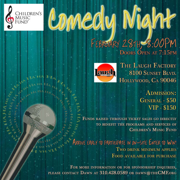 Annual Comedy Night!