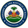 Embassy of Haiti crest