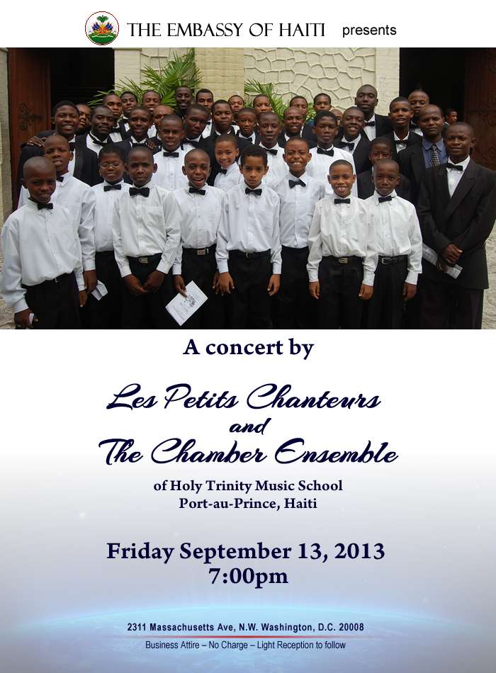 Les Petits Chanteurs of Holy Trinity Music School - Haiti