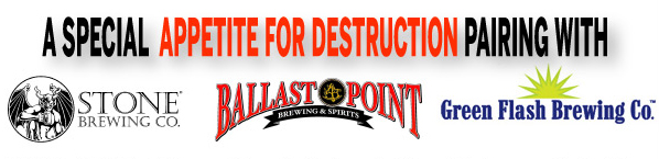 Stone Ballast Green Flash Breweries Guns N Roses