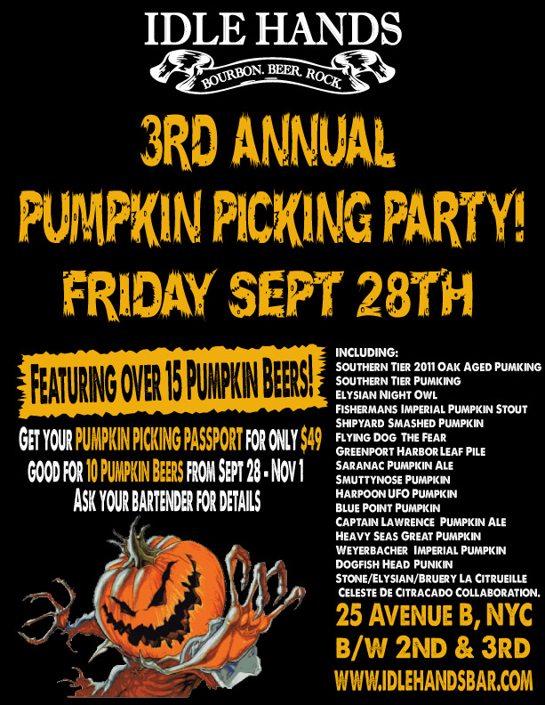 Idle Hands Pumpkin Picking Party