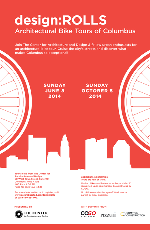 The Center for Architecture and Design's design:ROLLS 2014