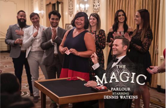 The Magic Parlour starring Dennis Watkins