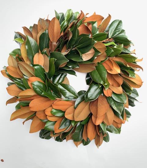 Full Circle Magnolia Wreath