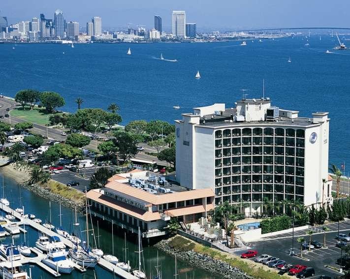 Hilton Harbor Island Hotel, San Diego
