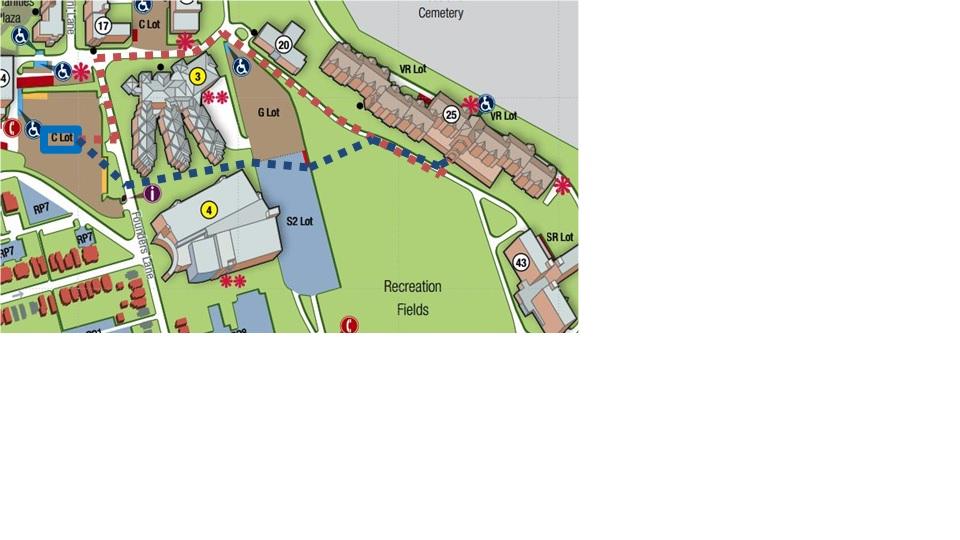 UD Campus Map
