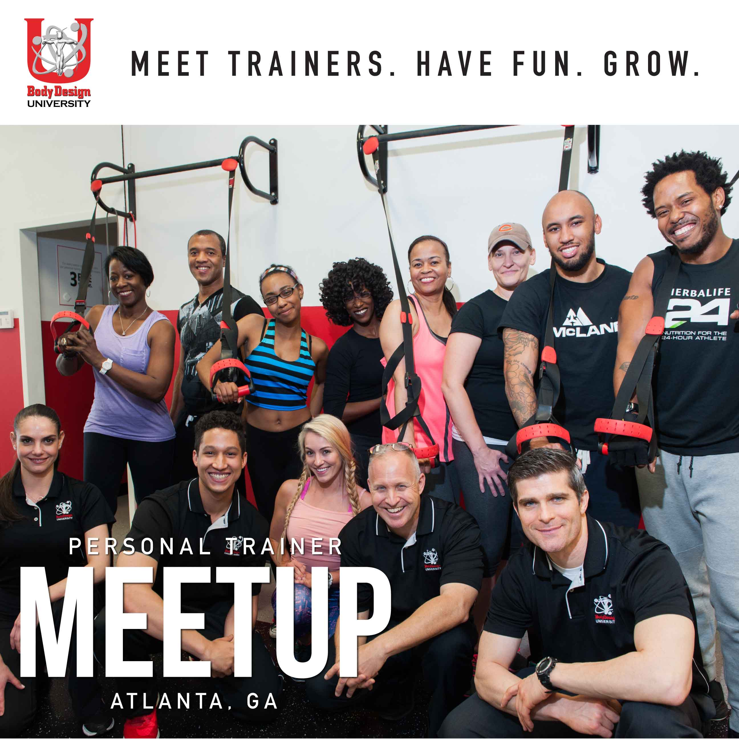 Personal trainer meetup atlanta tickets sat oct 27 2018 at 400 tags xflitez Images