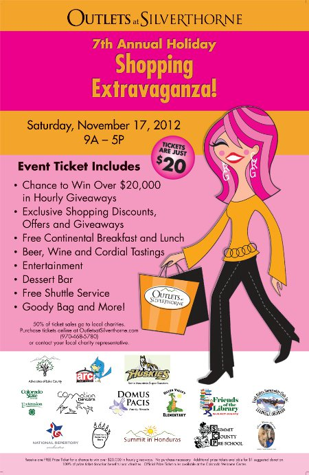 7th Annual Shopping Extravaganza Charity Event