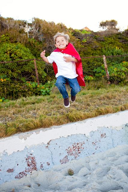 Super Hero Jump!