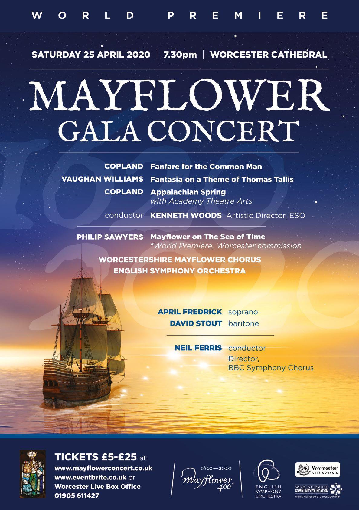 Mayflower Gala Concert Poster