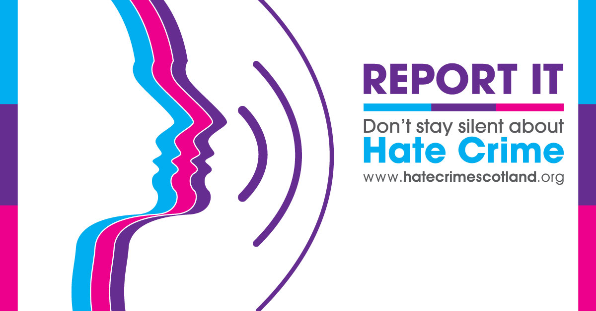 Don''t Stay Silent about Hate Crime