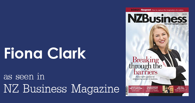 NZ Business Magazine - Fiona Clark