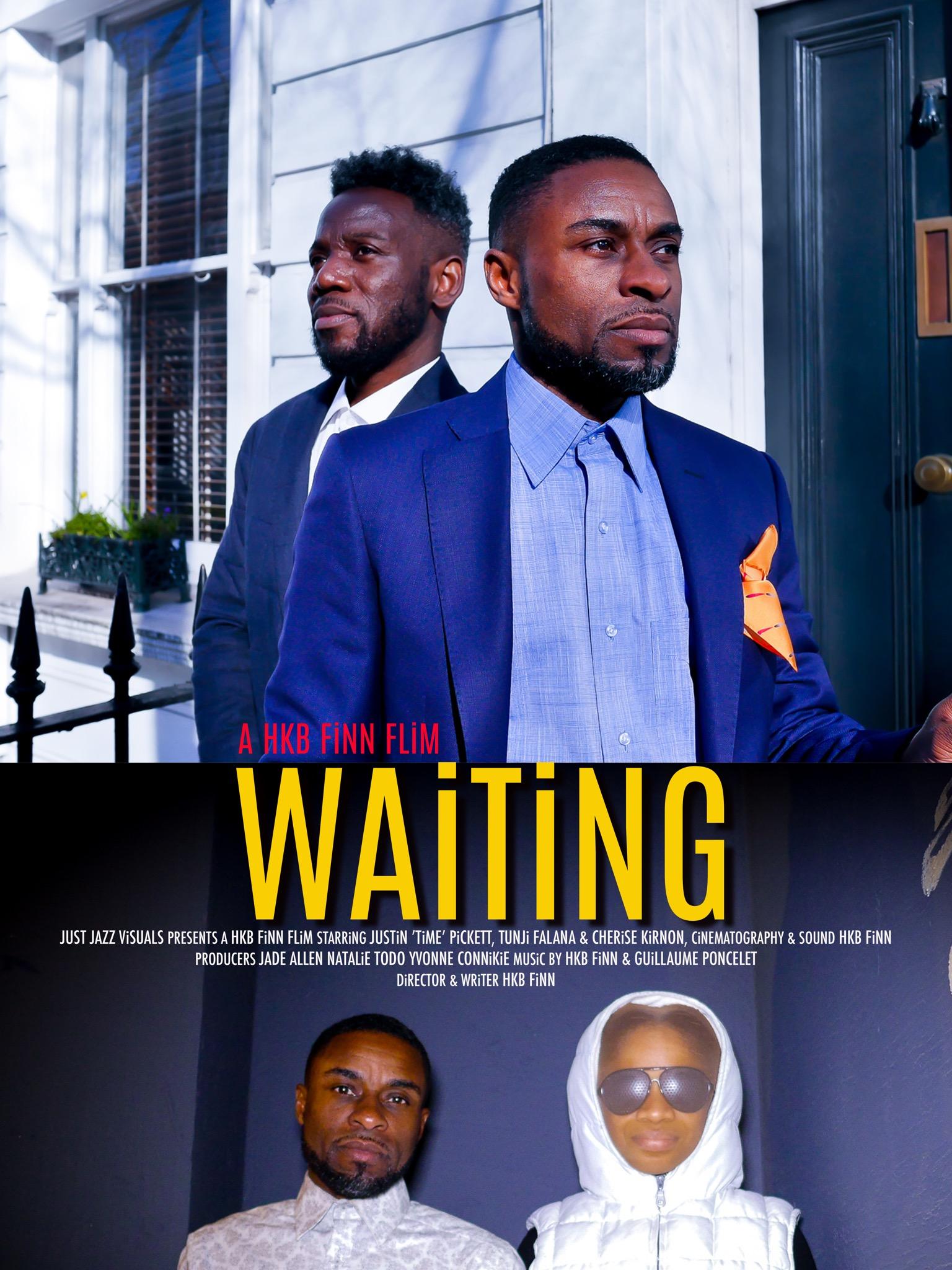 Poster for the short film Waiting by HKB FiNN