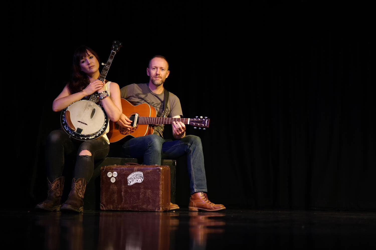 Yorkshire Americana duo Steamtown