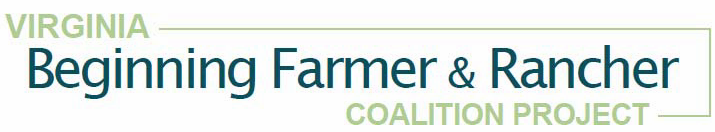 Virginia Beginning Farmer & Rancher Coalition Project  Logo