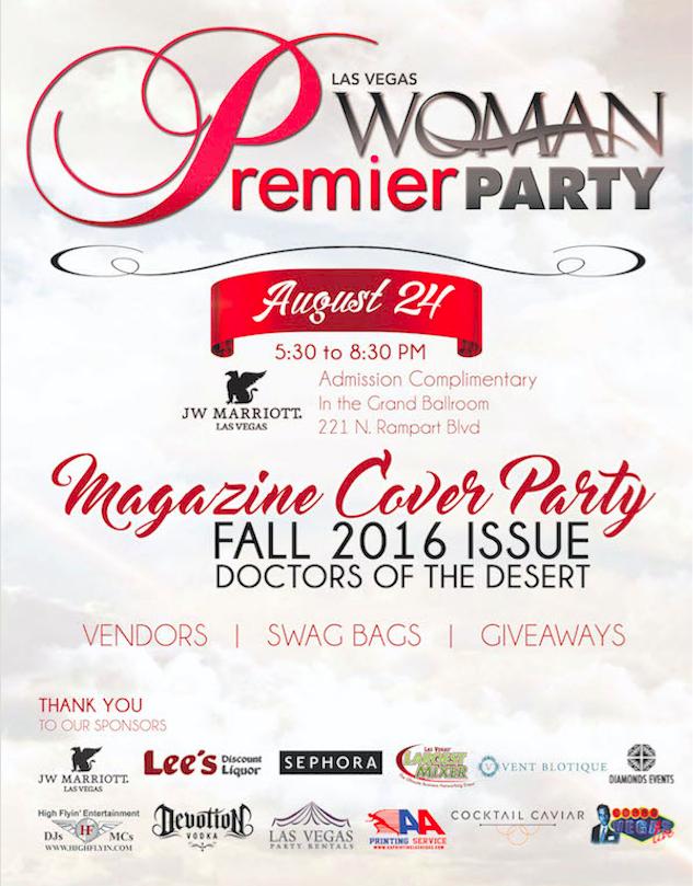 Las Vegas Woman Magazine Premier Party