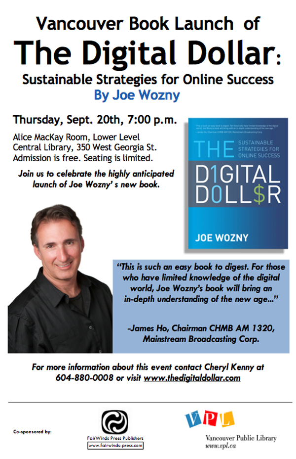 The Digital Dollar Book Release Event Information