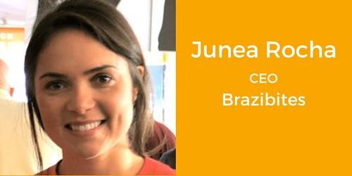 Junea Rocha CEO Brazibites