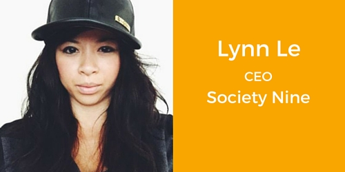 Lynn Le CEO Society Nine