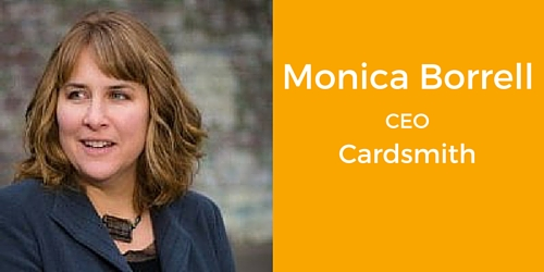 Monica Borrell CEO Cardsmith