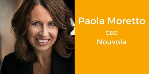 Paola Moretto CEO Nouvola