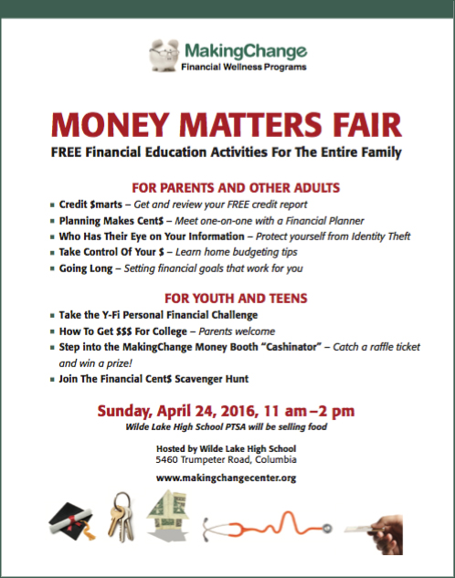 Money Matters Fair Poster