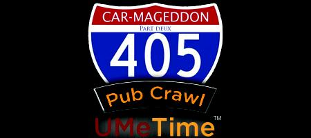 Carmageddon II Pub Crawl Powered by UMeTime