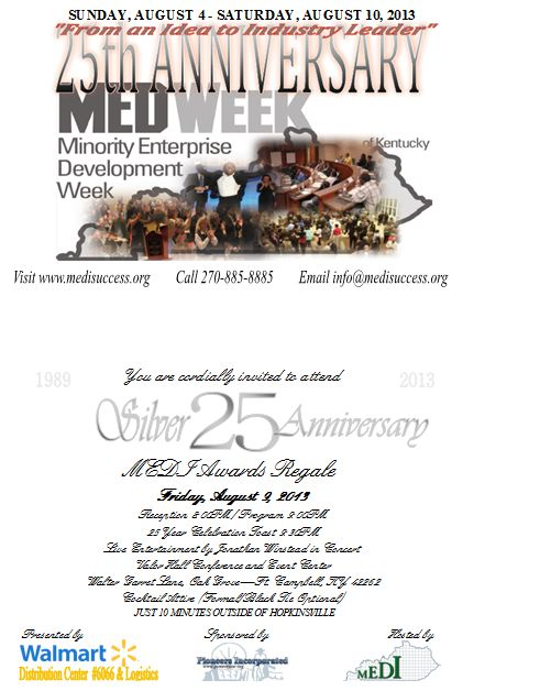 25th Silver Anniversary MED Week of Kentucky