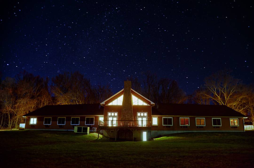 Camp Site at Night