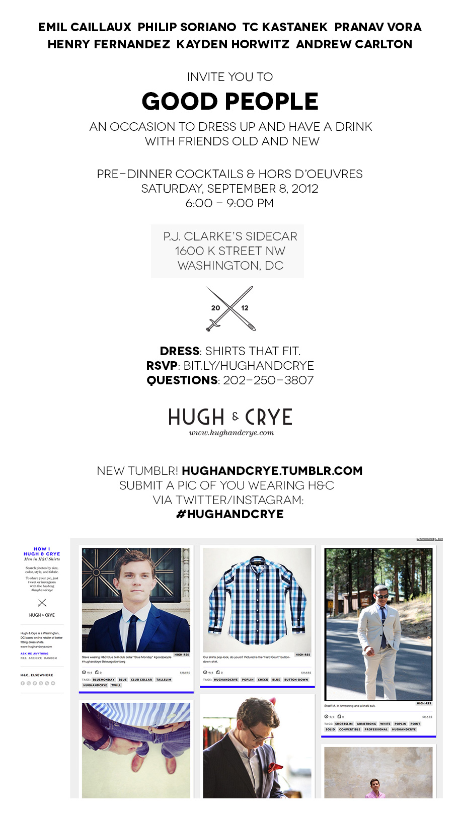 Good People - event by Hugh & Crye