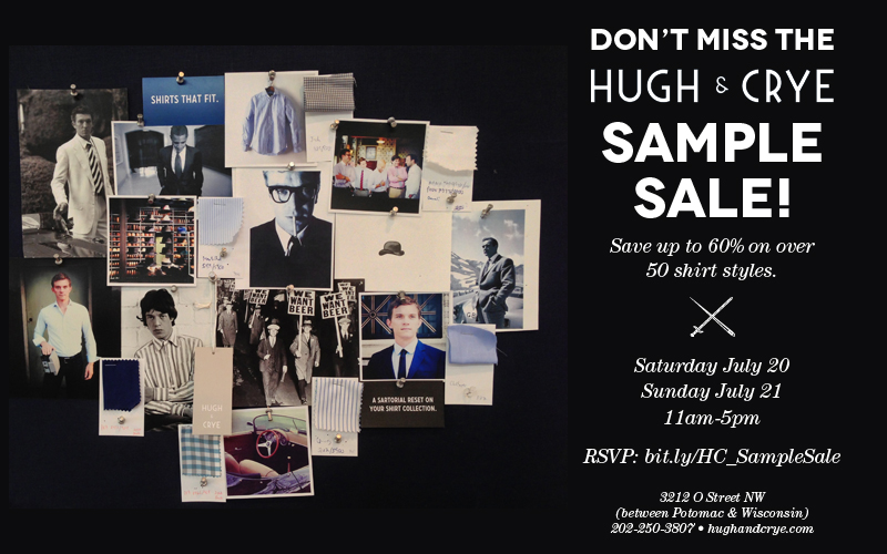 H&C Sample Sale