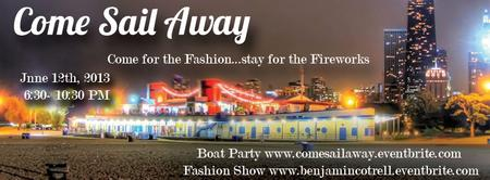 ~  COME SAIL AWAY Fashion Show  ~