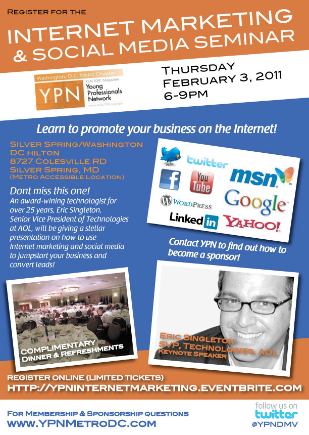 Internet Marketing & Social Media Flyer