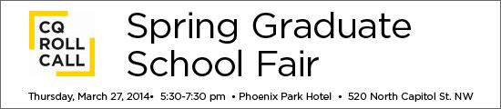 CQ Roll Call Spring Graduate Fair