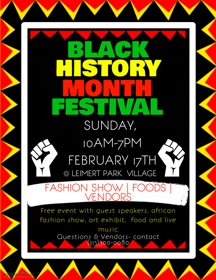 FREE ADMISSION Los Angeles Black History Month Community Festival ...