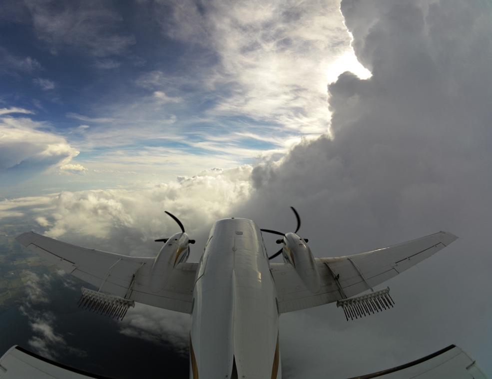 WMI Cloud seeding aircraft