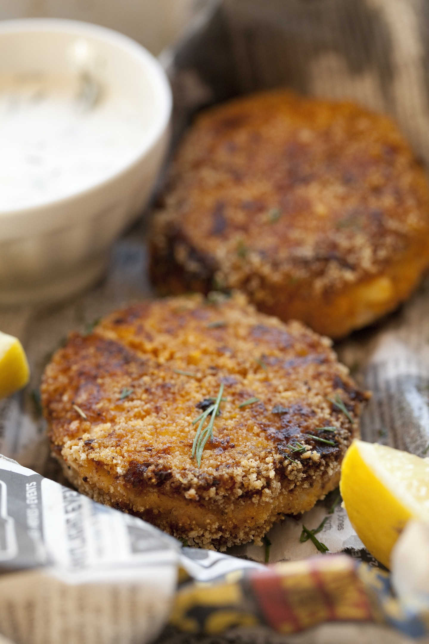 Hearts of Baltimore Crab Cakes