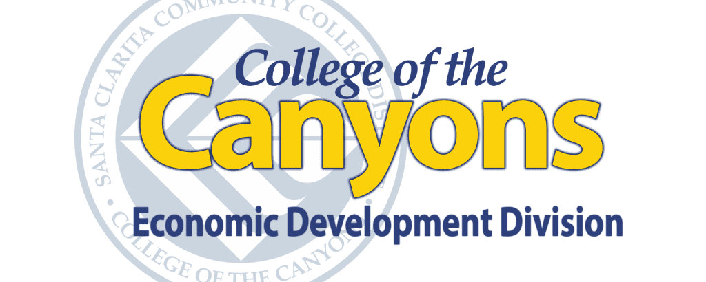 College of the Canyons Small Business Development Center Logo