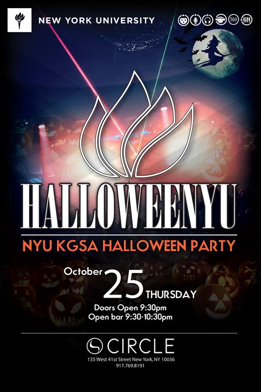 HalloweeNYU Party @ Club Circle by NYU KGSA