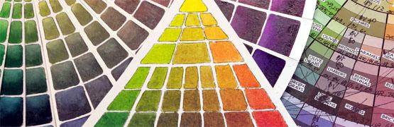 color mixing scales - Maggie Maggio